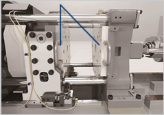 Thermo-controlled mold plate