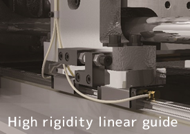 High rigidity linear guides adopted