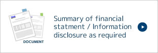 Summary of financial statment / Information disclosure as required
