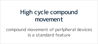High cycle compound movement